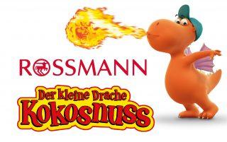 Der kleine Drache Kokosnuss hat mit Rossmann einen weiteren Lizenzpartner gewonnen